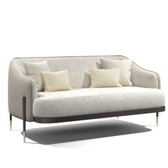 New Furniture, Office Furniture, Furniture Design, Living Room Sofa, Living Room Decor, Home Theater Design, 3 Seater Sofa, Outdoor Sofa, Sofas