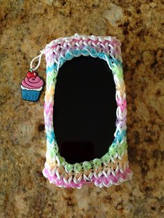 Updated rainbow loom phone case (front)