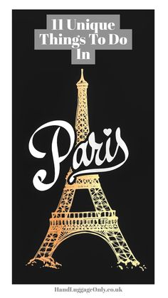 unique things to do in Paris (1)