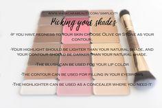 simple makeup – Hair and beauty tips, tricks and tutorials Airbrush Makeup, Contour Makeup, Skin Makeup, Beauty Makeup, Contouring, Strobing, Makeup Eyeshadow, Maskcara Makeup, Maskcara Beauty