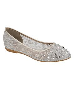Look at this Silver Fawn Flat on #zulily today!
