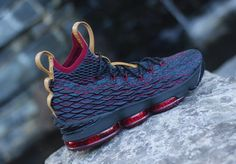 New Images Of The Nike LeBron 15 Cavs