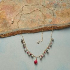 LOVE IN A MIST NECKLACE: View 2