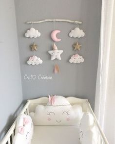 Do you have a cell phone and your baby is not using it anymore? Magst du meine Idee, m… Do you have a cell phone and your baby does not use it … - Baby Bedroom, Baby Boy Rooms, Baby Room Decor, Baby Cribs, Nursery Room, Kids Bedroom, Nursery Decor, Girl Rooms, Baby Room Ideas For Girls