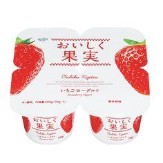 おいしく果実いちごヨーグルト
