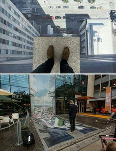 3D street art Crazy awesome!
