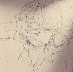 Anime Drawings Sketches, Anime Sketch, Manga Drawing, Manga Art, Anime Art, Pretty Art, Cute Art, Inspiration Art, Art Reference Poses