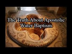 The Truth About Apostolic Water Baptism - YouTube