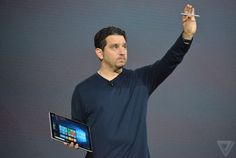 Microsoft Surface Pro 4 announced with new Surface Pen, starts at $899 - There's a fingerprint sensor on the keyboard and Cortana integration inside the new tablet, which fits a 12.3-inch display in the same physical footprint as the older 12-inch device. | The Verge