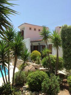 A Mediterranean villa.