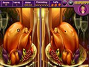 Thanksgiving - Spot the Difference Free Online Puzzle Games, Online Games, Different, Thanksgiving, Thanksgiving Tree, Thanksgiving Crafts