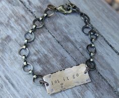 This bracelet is an invitation to set down what no longer serves you.