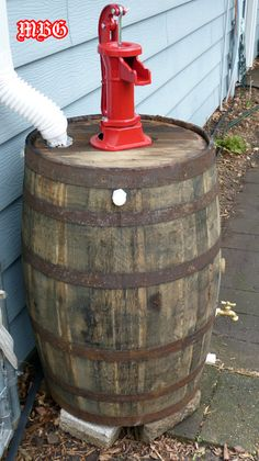 This Old Whiskey Barrel turned over a New Leaf for our Butterfly Garden.