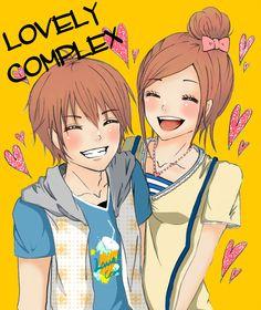 Lovely Complex - Atsushi Otani and Koizumi Risa I Love Anime, All Anime, Manga Anime, Anime Art, Tall Girl Short Guy, Short Girls, Koizumi Risa, Lovely Complex Anime, Complex Art
