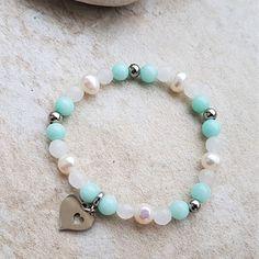 Diy And Crafts, Beaded Bracelets, Beads, Stone, Wood, Nature, Jewelry, Beach Poses, Bangle Bracelets