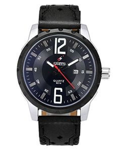 NOPTEG 2PCS Unisex Wrist Watch Mens Womens Triangle Dial Birthday Valentines Day Gift for Lover Family >>> You can find more details by visiting the image link.