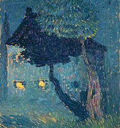 Alexej von Jawlensky - Ein Haus im Wald (1903).jpg