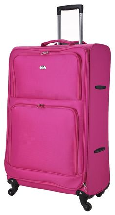 Buy Weightless Revelation 4 Wheel Lightweight Large Case Pink at ...