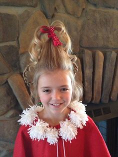 Cindy Lou Who hair | Costume adventures