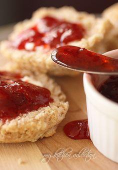 Strawberry Vanilla Preserves via @Jen Schall