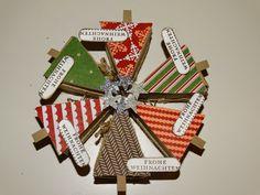 Handmade with Love : Kleine süße Weihnachtsbäumchen mit Anleitung