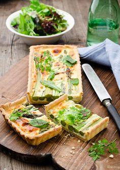 Testez cette recette de tarte aux asperges sans gluten pour un plat ou une entrée aux saveurs de printemps.