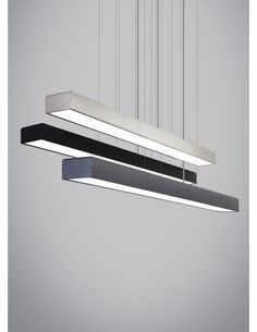 """Strong lines. Industrial simplicity. This LED suspension fixture performs as it must with such a simple yet handsome design and lets the light its elf take center stage. Equally at home over a kitchen island or dining room table as it is in a professional setting over a conference table, lighting a desk space or welcoming guests. At 40 watts of field-replaceable LED strips, it will provide incredible illumination in virtually any environment (3500 lumens, 3000K). Ships with 252"""" of field..."""