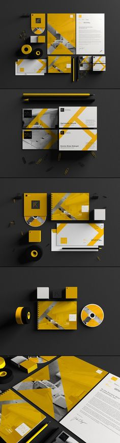 Visual Identity by Wojciech Zalot and Gosia Zalot for Kolektyw Architectural Studio