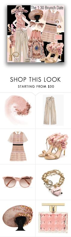 """Lunch Date"" by dawn-lindenberg ❤ liked on Polyvore featuring NARS Cosmetics, Thomas Mason, self-portrait, Rupert Sanderson, Victoria Beckham, Wildfox, Michael Kors, Paul & Joe and Dolce&Gabbana"