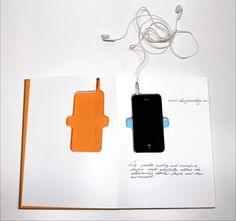 SmartPhone Notebook Version 2 Concept by Nothing Design Group is made for you to hold the iPhone 4 within, acting as a carrying situation for… Smartphone, Iphone Skins, Iphone 4, Windows 7 Themes, Funny Design, Smart Design, Web Design, Graphic Design, Best Windows