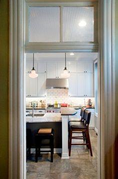 Timeless classic kitchen, Kabinart Hampton Maple cabinets in Aspen White, Project by Graniterra, Photographer: Brian Tucker Maple Cabinets, Timeless Classic, Aspen, St Louis, The Hamptons, Kitchens, Table, Furniture, Home Decor