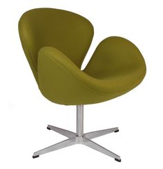 Replica Arne Jacobsen Swan Chair by Arne Jacobsen - Matt Blatt