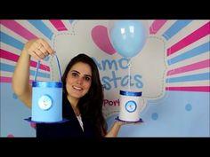 Lembrancinha de Aniversário Feita com Caixa de Leite / Por Carla Oliveira - YouTube