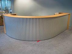 Custom Corrugated Metal Desk Corrugated Metal