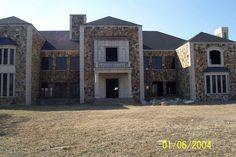 Abandoned mansion off IH35 in Sanger, TX