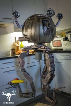 """Propnomicon: Life Size Codsworth from """"Fallout 4"""""""