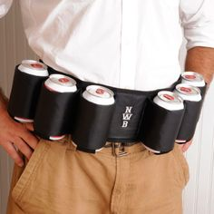 Personalized Sixpack Beer Belt