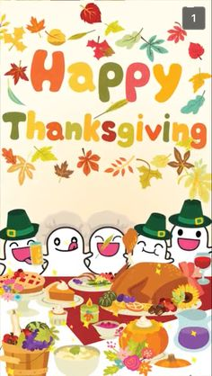 Happy Thanksgiving from Snapchat