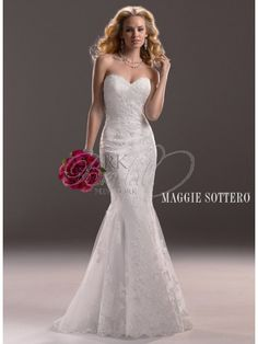 Maggie Sottero Spring 2013 - Style 3MS760 Marianne Gown Only