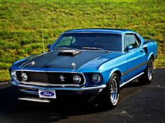1969 Ford Mustang Super Cobra Jet