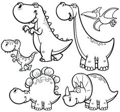dinosaurs color pages among the most awe inspiring creatures to have ever graced our planet has to be the dinosaurs they evolved into numerous different shapes and sizes coloring pages disney free Easy Coloring Pages, Free Printable Coloring Pages, Coloring Pages For Kids, Coloring Books, Free Disney Coloring Pages, Coloring Tips, Cartoon Dinosaur, Dinosaur Art, Cute Dinosaur