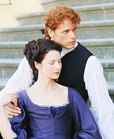 """jamesandclairefraser: """" Sam Heughan & Caitriona Balfe Photo shoot 