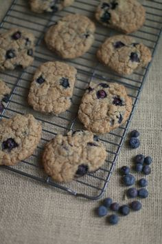 Blueberry Cookies // The Harvest Food Blog