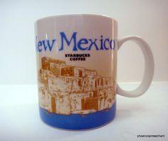 New Mexico Starbucks Icon Global Collector Series Mug