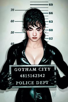 Catwoman - Comic Book Artist: Adam Hughes | Abduzeedo | Graphic Design Inspiration and Photoshop Tutorials
