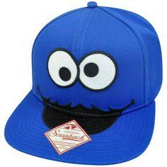 Bioworld Sesame Street Cookie Monster Character Big Face Snapback Hat Cap Bioworld http://www.amazon.com/dp/B00GYJFXZ8/ref=cm_sw_r_pi_dp_mfg.vb0S35TF8