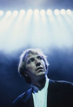 Alan Rickman as Hamlet in 1992. Shakespeare always remained important to him.