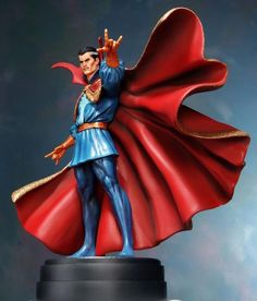 The Occult Dr. Strange from Marvel Comics Joaquin Phoenix, Comic Book Characters, Comic Books, Marvel Statues, The Ancient One, Fantasy Miniatures, Sculpture, Doctor Strange, Marvel Dc