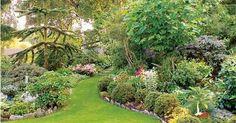Exotiska växter kan vara oberäkneliga vad gäller höjd och utbredning så planera noga innan du sätter igång. Den här vackert planerade trädgården finns i Veddinge, nära Varberg.