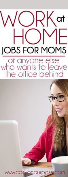 work at home jobs that will make you REAL money - NOT BLOGGING! you can make money from home.